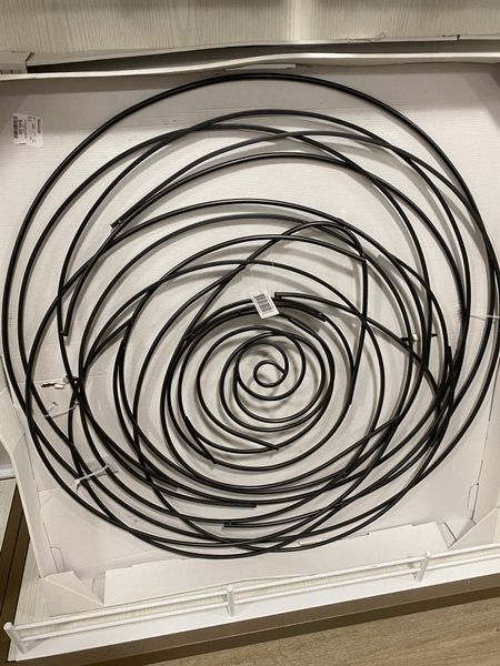 Spiral black metal wall decor!🖤    #LTKhome #LTKstyletip #LTKfamily