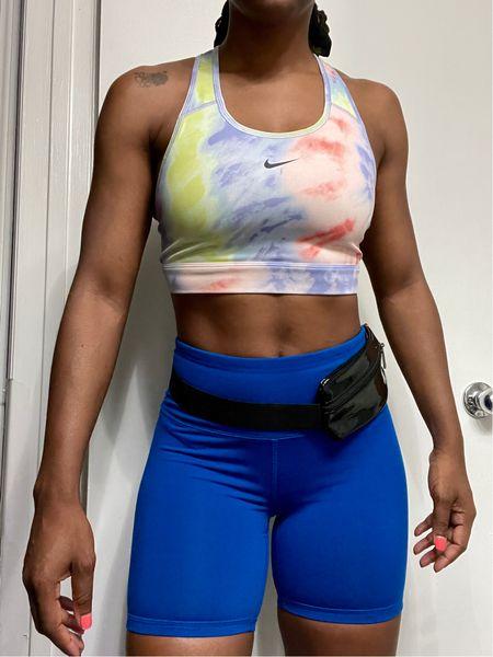 Today's run is brought to you by @nike #activewear #gymset #summersportsbra #sportsbra #nikesets #gymoutfit #gymwear  #LTKDay #LTKfit