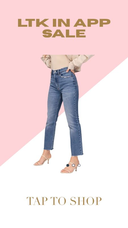 Perfect fitting jeans for woman with curves  #LTKcurves #LTKunder100 #LTKSale