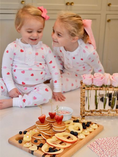 Matching jammies for your little sweethearts 💕 http://liketk.it/35nfX #liketkit @liketoknow.it #LTKbaby #LTKkids #LTKVDay @liketoknow.it.family Screenshot this pic to get shoppable product details with the LIKEtoKNOW.it shopping app