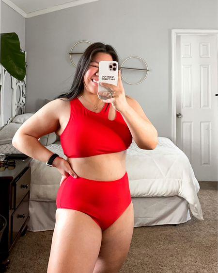 amazon find. high waisted 2 piece bikini http://liketk.it/3bjlh #liketkit @liketoknow.it