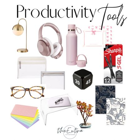 Need some productivity tools to kick your butt into gear?!   I've been feeling the burnout lately and need to regroup this week - that's why I'm using these items that are sure to boost your productivity!   #LTKhome #LTKworkwear #LTKunder50