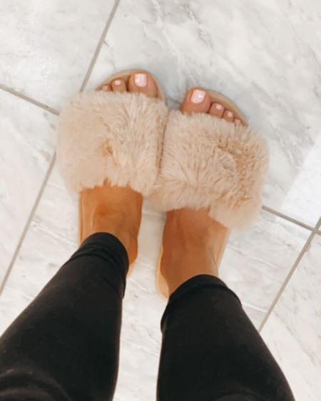 Fuzzy house shoes http://liketk.it/36TG0 #liketkit @liketoknow.it #StayHomeWithLTK #LTKunder50
