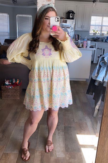 Loveshackfancy freja dress shopbop lele Sadoughi headband Tory Burch sandals spring outfit Easter dress   #LTKSeasonal #LTKtravel