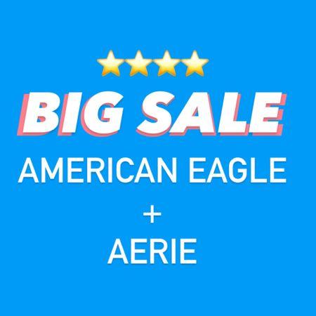 30% OFF 4+ items.  25% OFF 3+ items.  40% OFF comfies!!  BIG sale at American Eagle + Aerie!      http://liketk.it/3gSBS @liketoknow.it #liketkit #LTKsalealert #LTKstyletip #LTKtravel