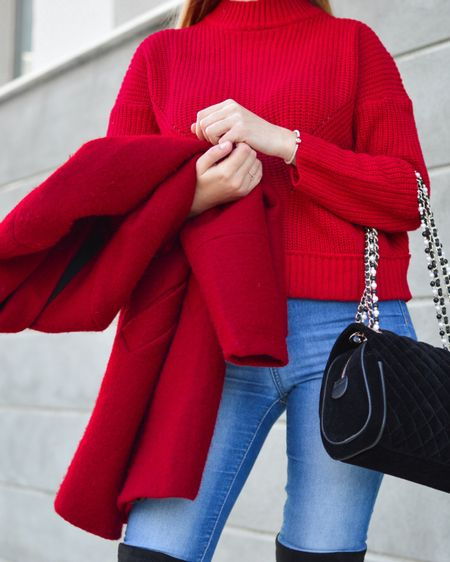 The season of Red is here! From ruby turtleneck sweaters to garnet jackets, this is the time to wear Red!    http://liketk.it/36DQ1 #liketkit @liketoknow.it #LTKSeasonal #LTKVDay #LTKstyletip