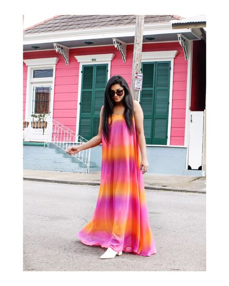 Wishing all the cities were this colorful!💕 Dress- @shopreddress  http://liketk.it/2A9qZ #liketkit @liketoknow.it