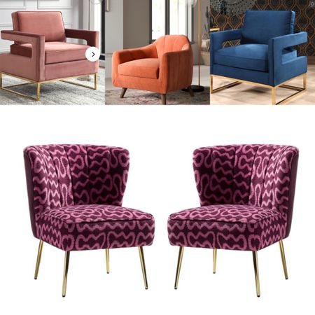 Memorial Day Sale— these chic accent chairs are so versatile and  will  elevate any space with a touch of glam,.   #LTKhome #LTKsalealert