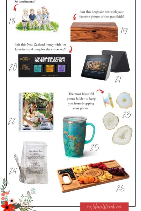 Gifts for her! Whether you are shopping for your mother-in-law, a teacher, mom or best friend - this women's gift guide has it all at different price points!   #LTKunder50 #LTKGiftGuide #LTKHoliday