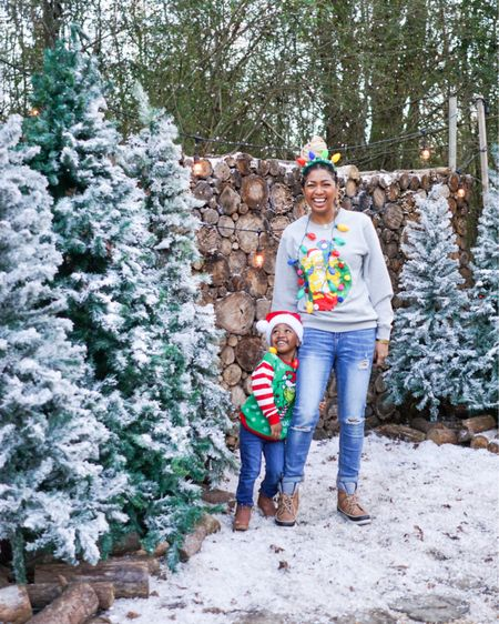 Ugly Christmas Sweaters for the Family.  http://liketk.it/33Anq #liketkit @liketoknow.it