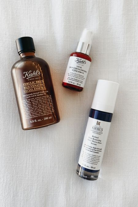 It's no secret that I'm almost exclusively on the Kiehl's train when it comes to skincare and I've added a few holy grail products to my daily routine! Take advantage of their Friends & Family sale and get 25% off of my must-haves!   #LTKsalealert #LTKbeauty #LTKunder50
