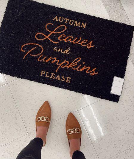 Fall door mats from Target!   #LTKunder50 #LTKstyletip #LTKSeasonal