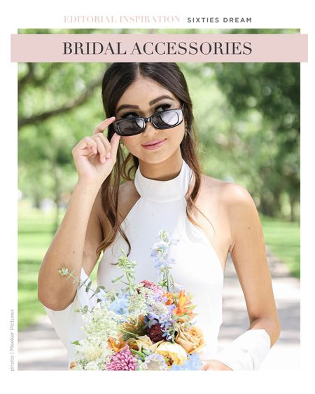 Sunglasses are a must have accessory for your bridal look. 😎  #LTKtravel #LTKwedding #LTKstyletip