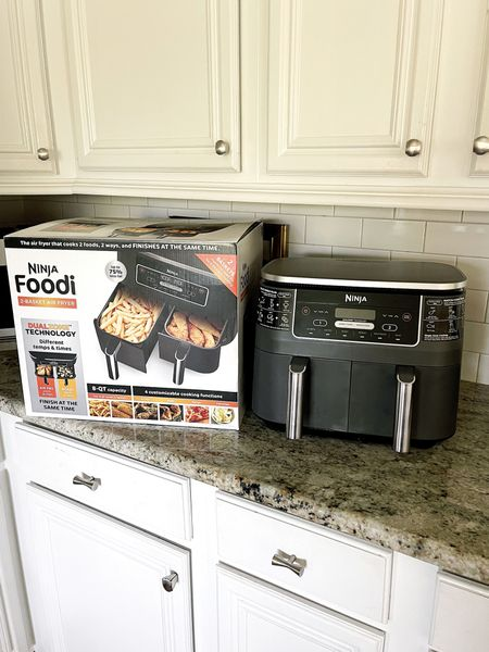 I bought a Ninja Air Fryer about 6 months ago and was worried I wouldn't use it that often. I was wrong! We use it a ton. I love cooking any type of vegetables in it. They are always so good and crispy. The kids make pizza, chicken legs, fries, chicken strips and much more. I love it so much I got one for my mother-in-law. Now on sale for $159 or 5 payments of $32. @qvc #ad  #LTKSale #LTKfamily #LTKGifts
