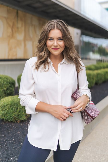 time to get down with button ups 😉👕 today on CaralynMirand.com, I'm sharing my best tips + tricks for how to find a well fitting button down shirt and where I like to shop them! 👌🛍 Spoiler: you may be wearing the wrong bra. 🤭👙 Where are your favorite places to shop them?    #LTKstyletip #LTKworkwear #LTKcurves