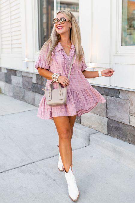 Wearing a size small dress.