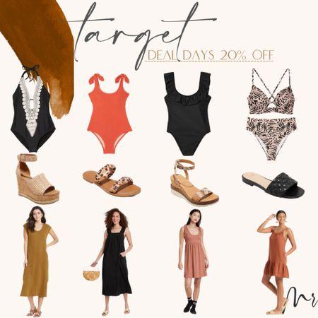 http://liketk.it/3i4Hb #liketkit @liketoknow.it #LTKunder50 #LTKstyletip #LTKsalealert Target Deal Days 20% off shoes, dresses and swim #targetstyle #bathingsuits #summerdresses #onepieceswimsuits #sandals