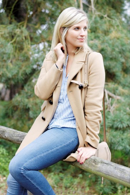 You can never go wrong with a classic camel coat 🐫 Paired with a striped shirt and you're good to go! || http://liketk.it/2pvMh  . . .  #camelcoat #liketkit #fashionblogger #fallfashion #outfit #ootd #ootdmagazine #style #blonde #germanblogger #streetstyle @liketoknow.it