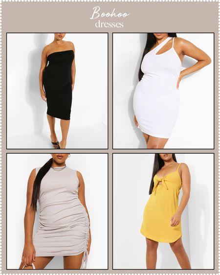 plus-size dresses at boohoo on sale'   #LTKDay #LTKcurves #LTKunder50