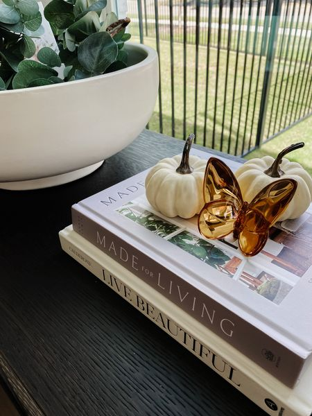 Mini pumpkins for fall decor. Love these on a stack of coffee table books, in a centerpiece bowl or just strewn around the house. Great quality! Ive had these for three years.   #LTKstyletip #LTKSeasonal #LTKhome