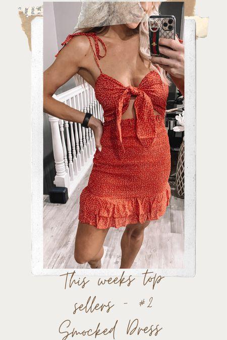 This weeks top sellers - #2 Smocked Dress   http://liketk.it/3ggG9 #liketkit @liketoknow.it
