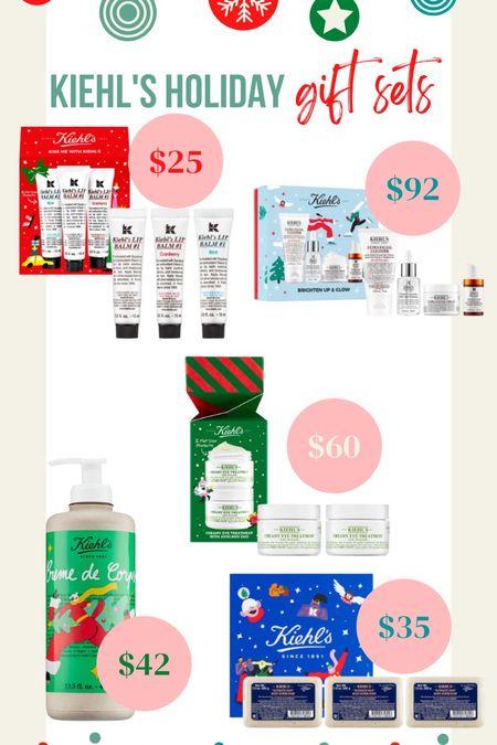 @kiehls holiday gift sets all available at @nordstrom !   #LTKGiftGuide