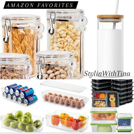 Amazon kitchen favorites, meal prep containers, canister, fruit and veggies storage. #tinasharetuesday  Kitchen organized, must-have http://liketk.it/3g5QU #LTKSpringSale #LTKsalealert #LTKstyletip #LTKunder50 #LTKunder100 #LTKhome #LTKfit #LTKfamily #LTKtravel #LTKitbag @liketoknow.it #liketkit  #ltkkitchen#ltkstorage