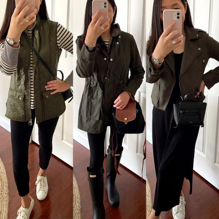 October 11, 2021 - There's a new blog post sharing some olive fall layers 👉🏻 https://www.whatjesswore.com/2021/10/barbour-wray-vest-review-olive-fall-layers.html  #LTKSeasonal #LTKstyletip #LTKunder100