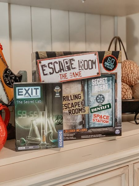 Escape room board games to help pass the time at home! How cute!! Such a fun idea, can't wait to try these! And so affordable! 💖 /// http://liketk.it/2Pczt @liketoknow.it #liketkit #StayHomeWithLTK #LTKfamily #LTKunder50