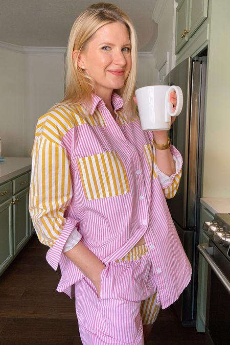 The cutest $29 amazon pajamas! #amazon   #LTKunder50