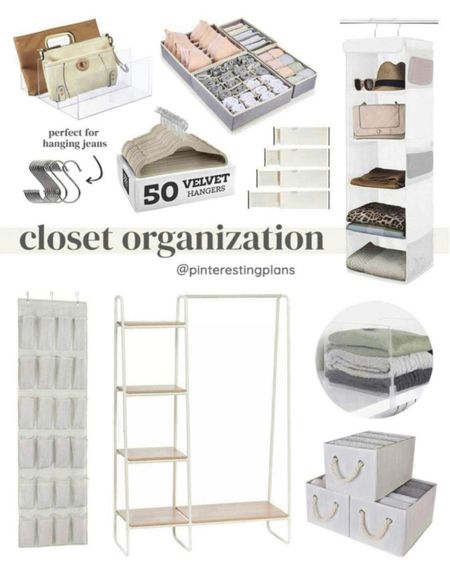 Amazon finds, closet organization, storage ideas, home organization, closet storage   #liketkit @liketoknow.it http://liketk.it/3kT9z   #LTKhome #LTKunder50 #LTKunder100