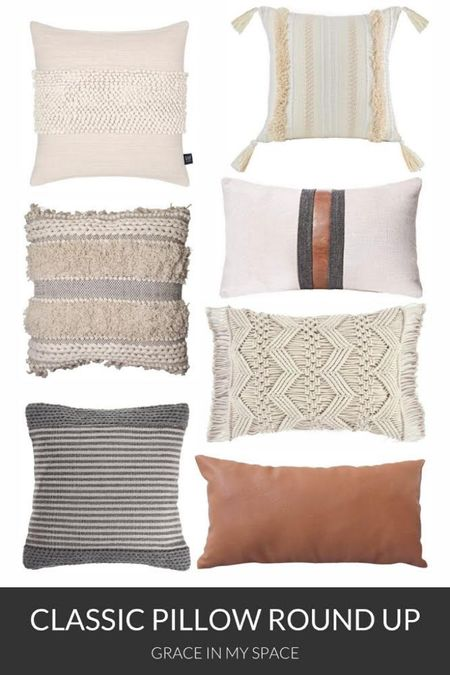 Classic neutral pillows for your everyday living room decor. http://liketk.it/3jgcQ #liketkit @liketoknow.it