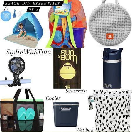 Beach day essentials. Great items for getaway/ beachday/ vacation needs  #Beachtent#travelcup#sunscreen  http://liketk.it/3gAqK #portablefan#travelfan#beachbag #jblspeaker#beachcooler#cooler #beachtoys#kidstent#beachtent #wetbag#vacationneeds#essentials #beachchair#beachmat#beachtowel #beachlooks#beachwagon#wagon #beachumbrella#travelchair #ltkbeachneeds #LTKDay #LTKsalealert #LTKstyletip #LTKunder50 #LTKswim #LTKitbag #LTKunder100 #LTKkids #LTKfamily #LTKtravel #LTKhome @liketoknow.it #liketkit