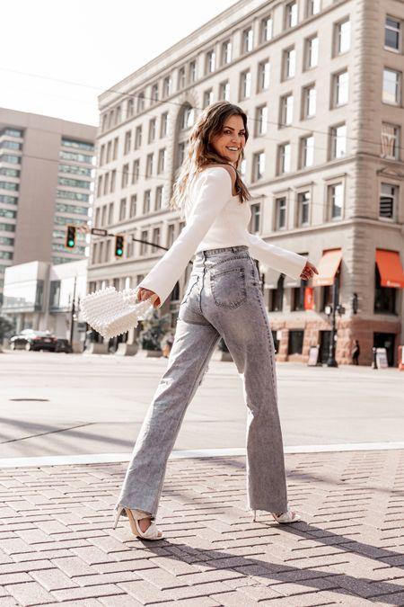 The best high waist jeans for fall!  Petal and Pup - use code: 15Kristin   #LTKshoecrush #LTKstyletip #LTKSeasonal