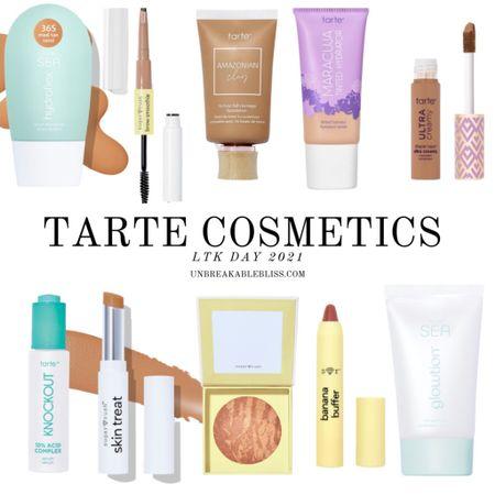 Some Tarte favorites! Part of the LTK Day sale! @liketoknow.it #liketkit #LTKDay #LTKbeauty #LTKsalealert http://liketk.it/3h5tP