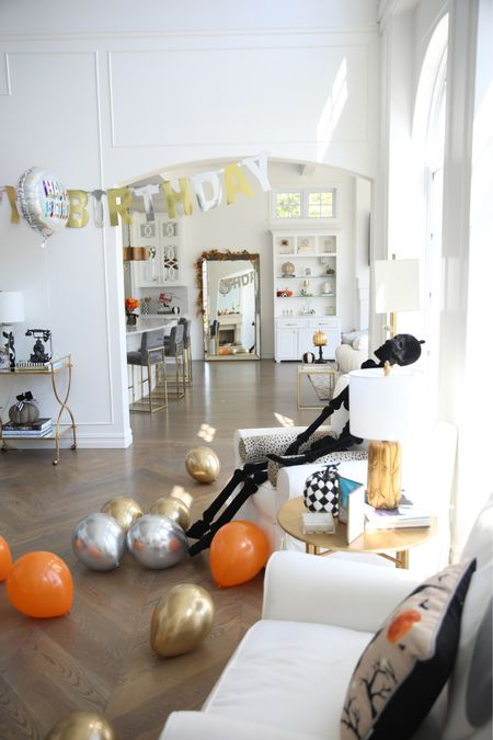 Fall Decor, Fall Home Decor, Halloween Decor, Halloween, Fall Kitchen Decor, Fall Living Room Decor, Fall Home, Emily Ann Gemma Home, Pumpkin Decor, Affordable Decor http://liketk.it/3p9G6  #LTKhome #LTKSeasonal