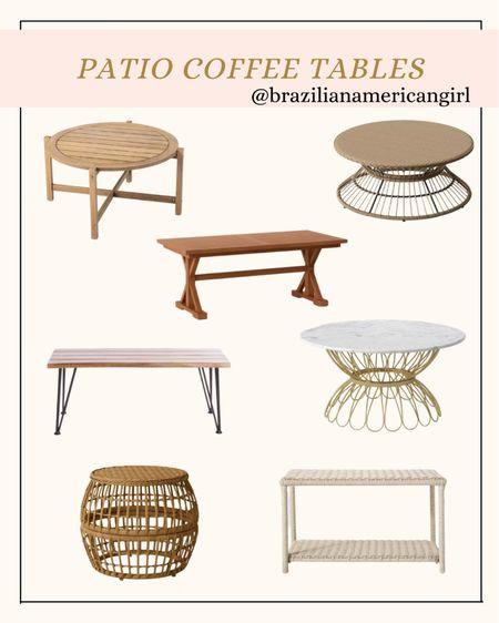 Patio Decor      #patiodecor #patiofurniture #patiosale #walmartfinds #outdoorfurniture #coffeetables #coffeetable  #LTKsalealert #LTKhome #LTKunder100