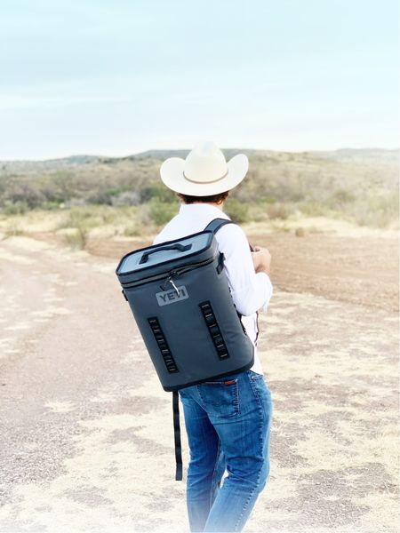 Yeti is the grand champion of coolers and this shape and style is perfect for tailgates, fits nicely behind your seat for car travel and doubles as a true backpack. You cant go wrong with a Yeti.  #LTKtravel #LTKitbag #LTKGiftGuide