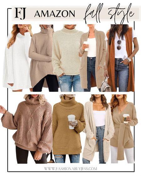 Amazon fashion, sweaters, fall sweaters, winter sweaters, fall style   #LTKunder50 #LTKunder100 #LTKsalealert