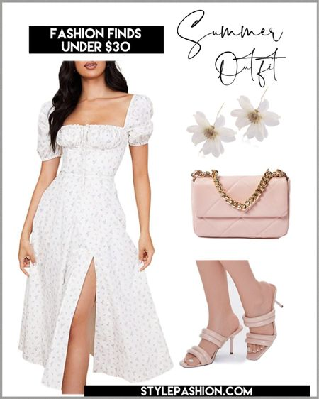 Fashion finds under $30 - the perfect Summer dress form Amazon and accessories to style ! All under $30 - #affordablefashion #amazonfashionfinds #SummeroutfitInspo http://liketk.it/3jsJH #liketkit @liketoknow.it #LTKstyletip #LTKunder50