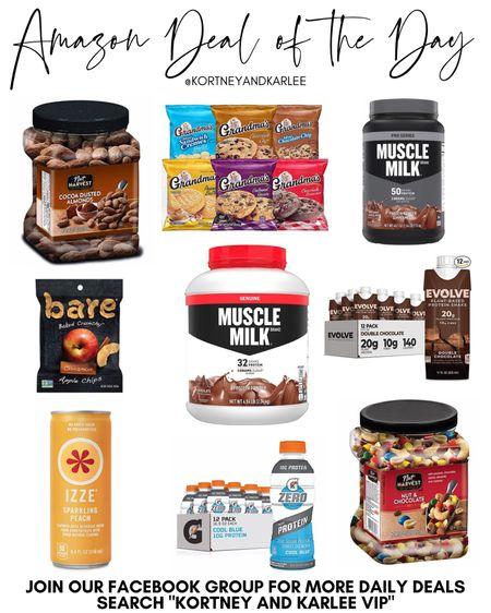 Amazon Daily Deal!! Up to 30% off Rockstar, Frito-Lay, Gatorade, Muscle Milk & more!!!  Amazon daily deal | amazon deal of the day | amazon deal | amazon beauty | amazon finds | amazon favorites | amazon lightening deal | Kortney and Karlee | #kortneyandkarlee #LTKunder50 #LTKunder100 #LTKsalealert #LTKstyletip #LTKSeasonal #LTKhome @liketoknow.it #liketkit