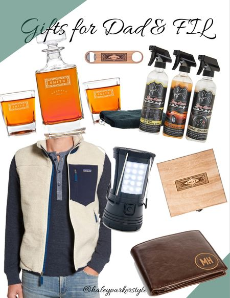 Gifts for dad and father in law // FIL gifts // dad gifts // Holiday gift guide Haley Parker style    #LTKfamily #LTKgiftspo #LTKmens @liketoknow.it #liketkit http://liketk.it/31egh