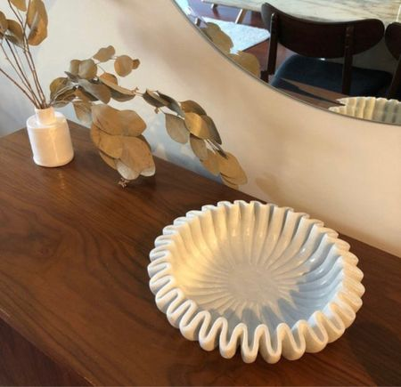 Love the look of this carved marble bowls.   #LTKstyletip #LTKunder100 #LTKhome