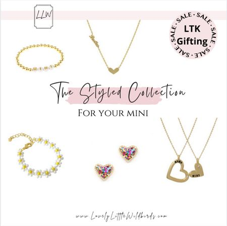 Mommy and Me jewelry. Jewelry for you little girls and accessories. On Sale 40% off until Tomorrow. Sitewide!     #LTKSale #LTKkids #LTKbaby
