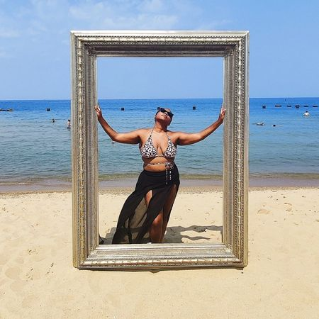 Beach day ready for Labor Day weekend! #competition   #LTKsalealert #LTKswim #LTKSeasonal