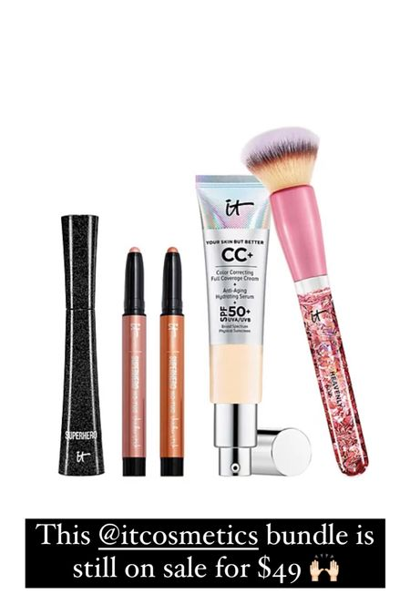 This it cosmetics bundle is still on sale for $49!!   #LTKbeauty #LTKsalealert #LTKunder50