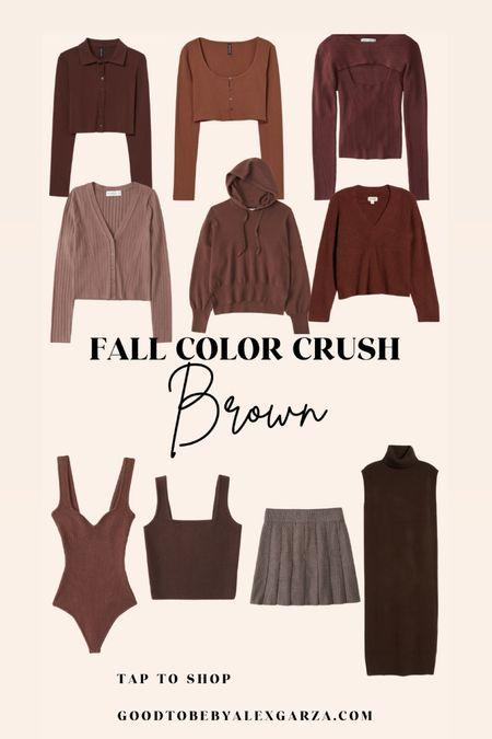 Chocolate brown for fall!   #LTKunder100 #LTKSeasonal #LTKunder50