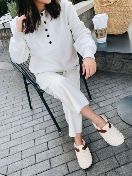 Cozy loungewear for fall.  #LTKunder50 #LTKshoecrush
