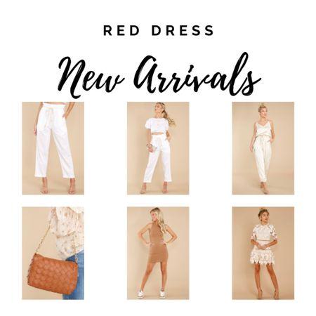 Neutral dresses, sets and purses.    #LTKtravel #LTKunder50 #LTKunder100