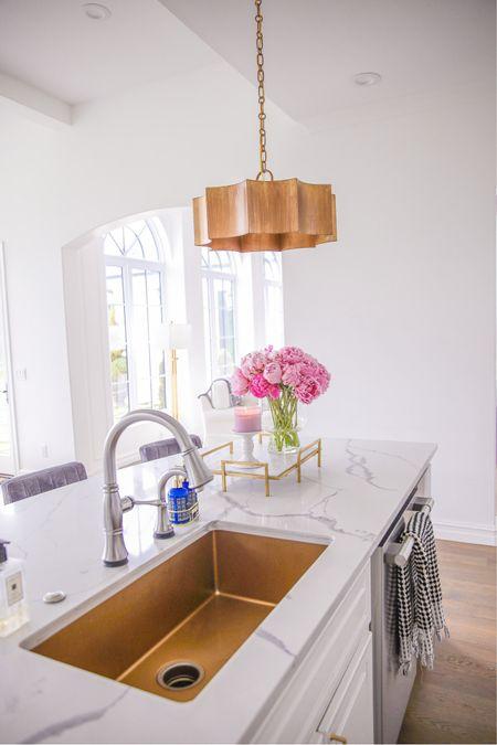 http://liketk.it/3hdVs #liketkit @liketoknow.it home decor, living room, kitchen ideas, candles, tray, hand towels, Emily Ann Gemma, bar stools, knife set, rug